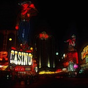 Las Vegas Painting Prints - Lets play  Print by Stefan Kuhn