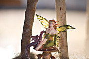 Fairies Art Photos - Lets rest for a while 2 by Angelina Cornidez