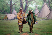 Camp Paintings - Letter From Home by Randy Follis
