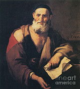 Greek School Of Art Art - Leucippus, Ancient Greek Philosopher by Science Source