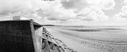 Panoramic Ocean Originals - Leven Seawall by Jan Faul