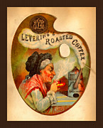 Levering's Roasted Coffee Print by Anne Kitzman