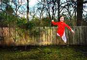 Levitation Art - Levitation Portrait of Young Girl by Nikki Marie Smith