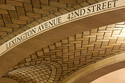 Tiled Ceiling Prints - Lexington Avenue and 42nd Street I Print by Clarence Holmes