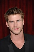 Thor Photo Framed Prints - Liam Hemsworth At Arrivals For Thor Framed Print by Everett