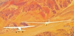 Lone Pine Framed Prints - Libelle Sailplane On Tow Framed Print by Gus McCrea