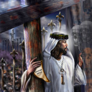 Christ Paintings - Liberation Beyond Comprehension1 by Reggie Duffie