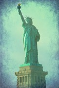America Photo Metal Prints - Liberty 1 Metal Print by Sophie Vigneault