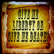 Flypaper Textures Art - Liberty by Angelina Vick