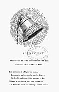 Sonnet Framed Prints - Liberty Bell, 1839 Framed Print by Granger