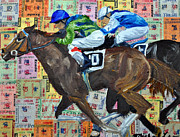 Kentucky Derby Mixed Media Prints - Liberty Bell Print by Michael Lee