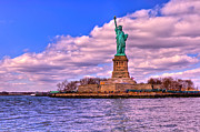 New York City Skyline Photos - Liberty by David Hahn