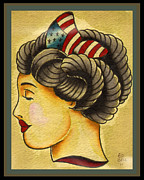 Liberty Paintings - Liberty Girl by Ed Bell