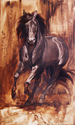 Impressionistic Horse Paintings - Liberty by JQ Licensing