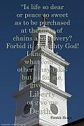 Slavery Metal Prints - Liberty or Death Metal Print by Kelvin Booker