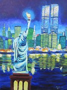 Liberty Paintings - Libertys Tribute by Don Hutchison
