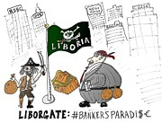 News Mixed Media - Liboria the safe haven of Liborgate prate bankers by OptionsClick BlogArt