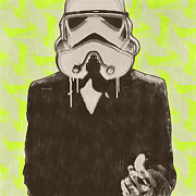 Stormtrooper Prints - Licence To Kill Ewoks Print by Cassius Cassini
