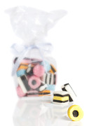 Confectionery Prints - Licorice Sweets Print by Christopher Elwell and Amanda Haselock