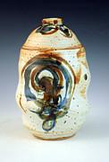 Lidded Jar 8 Print by Alejandro Sanchez