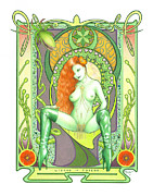 Dc Comics Prints - Lierre de Poison Print by Paul Petro