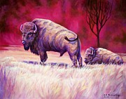 American Bison Originals - Life for the People by Ed Breeding