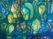 Group Portraits Originals - Life Goes On-But by Judith Redman