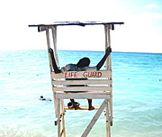 Blake Yeager Metal Prints - Life Guard Metal Print by Blake Yeager