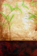 Abstract Landscaping Posters - Life In Desert1 Poster by Marcelo Holzinger