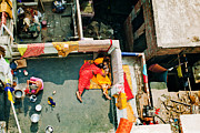 Religious Prints Photos - Life in India as it is by Agnessa Belvede