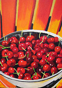 Wendy Butcher Art - Life is a bowl of Cherries by Wendy Butcher