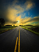 Environement Posters - Life is a Highway Poster by Phil Koch