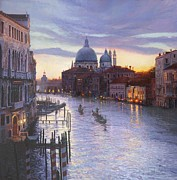 Gondolier Paintings - Life is beautiful by Helen Parsley
