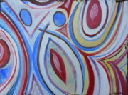 Abstract Dance Painting Originals - Life is Joy by Derick Van Ness