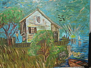 Waterside Paintings - Life by Lynda Coleman
