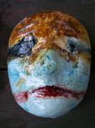 Spiritual Sculptures - life mask Christina Wagner by Trey Berry