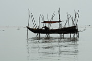 Travel Photography Prints - Life On Lake Tonle Sap  Print by Bob Christopher