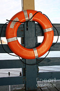 Buoyancy Framed Prints - Life Preserver Ring Framed Print by Photo Researchers, Inc.