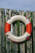 Alarm Framed Prints - Lifebuoy Framed Print by Joana Kruse