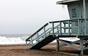 Beachscape Prints - Lifeguard Number Ten Print by John Rizzuto
