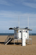 Generators Prints - Lifeguard Station - Skegness Print by Rod Johnson