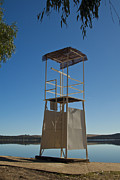 Gabor Pozsgai - Lifeguard tower on beach
