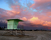 Beach - Lifeguard Tower by Timothy Bulone