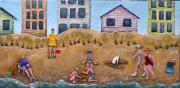 Life's A Beach Print by Linda Carmel