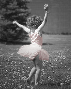 Little Girl Photos - Lifes a Dance by Cindy Singleton