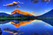 Mountain View Landscape Art - Lifes Reflections by Scott Mahon