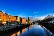 Dublin Photos - Liffey River by Justin Albrecht