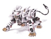 Liger Drawings - Liger Z by Chris Meyers