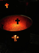 Christian Prayer Photos - Light a Candle by Joe JAKE Pratt