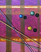 Sphere Paintings - Light and Color No Gravity by Catherine Sprague
